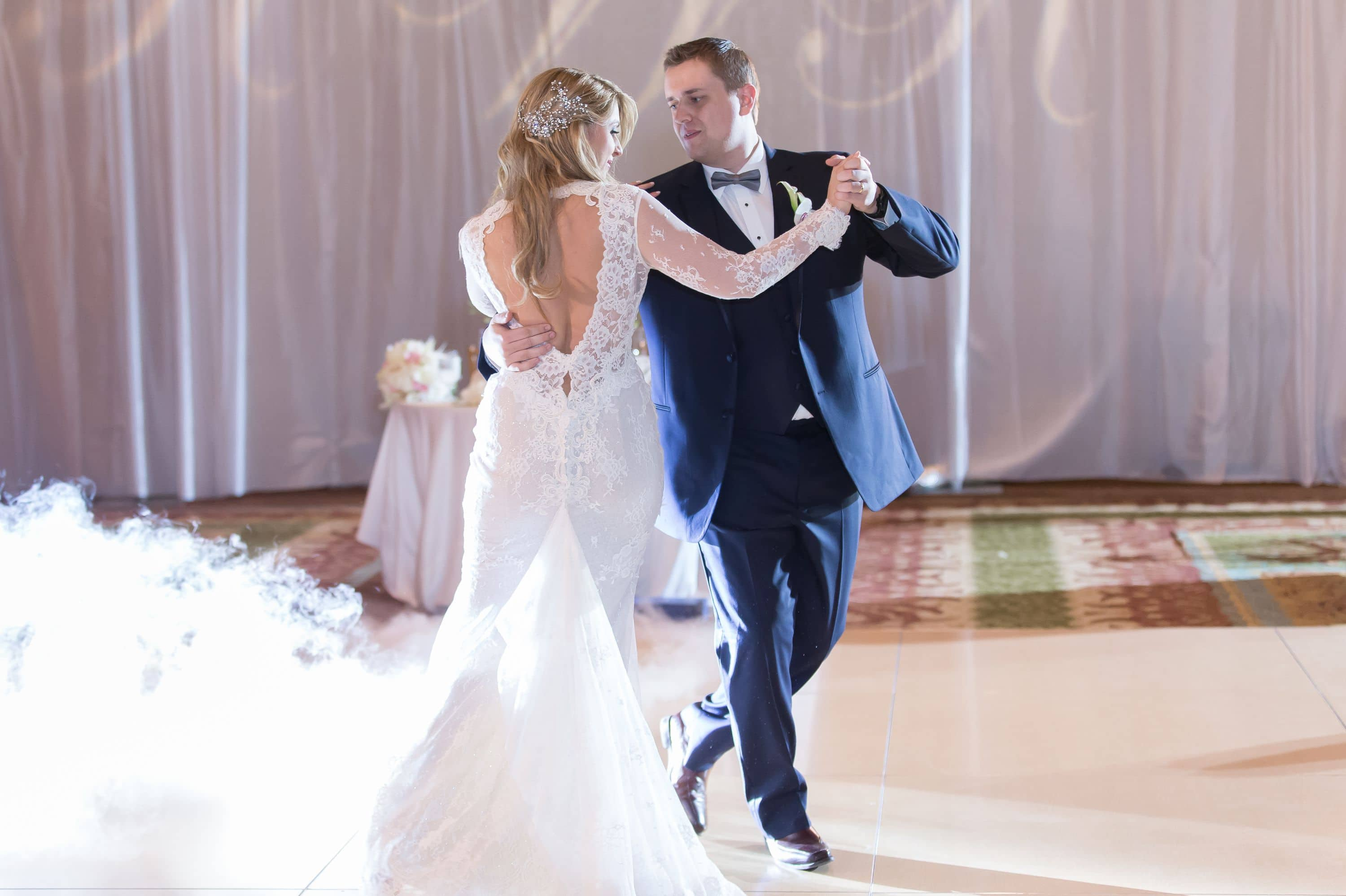 First dance with bride and groom at this amazing Diplomat Beach Resort Wedding